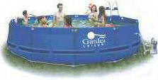 Garden Leisure 18' x 40'' Quick Set Metal Frame Swimming Pool