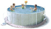 "Atlantic Splasher 12' x 36"" Swimming Pool"