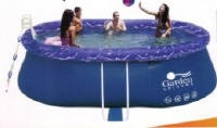Garden Leisure 15' x 10' x 42' Oval Quick Up Pool