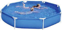 SwimStar Topaz 10ft Giant Swimming Pool